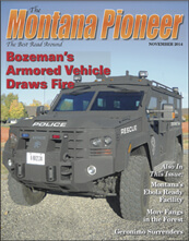 Armored Vehicle Draws Fire in Montana