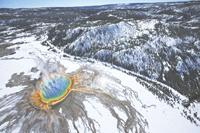 Grand Prismatic Spring, Yellowstone. Steve Quayle