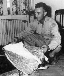Roswell Army Air Field Intelligence Officer Jesse Marcel, sr., 1947.